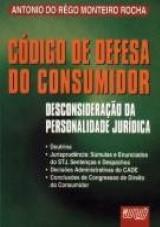 Código de Defesa do Consumidor: Desconsideração da Personalidade Jurídica