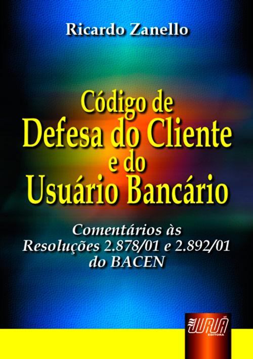 Código de Defesa do Cliente e do Usuário Bancário