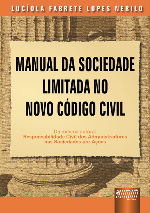 Manual da Sociedade Limitada no Novo Código Civil