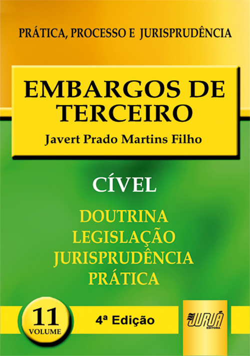 Embargos de Terceiro - PPJ Cível vol. 11