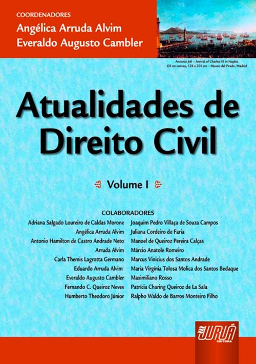 Atualidades de Direito Civil - Volume I