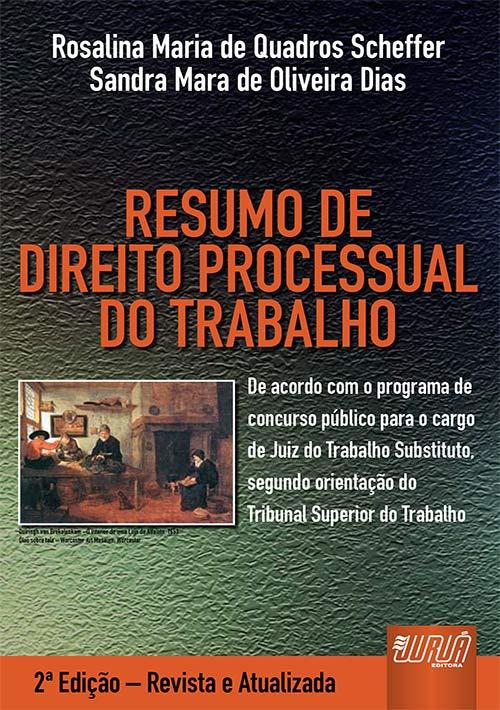 Resumo de Direito Processual do Trabalho