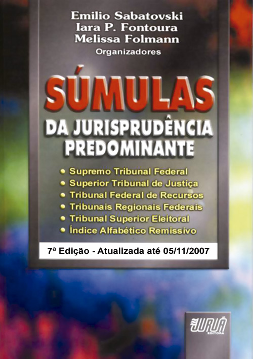 Súmulas da Jurisprudência Predominante