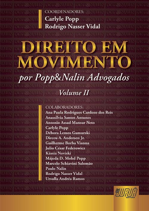 Direito em Movimento - Volume II