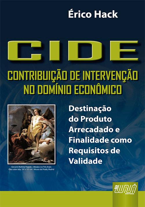 CIDE - Contribuição de Intervenção no Domínio Econômico