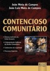 Contencioso Comunitário - Sistema Judiciário da União Européia