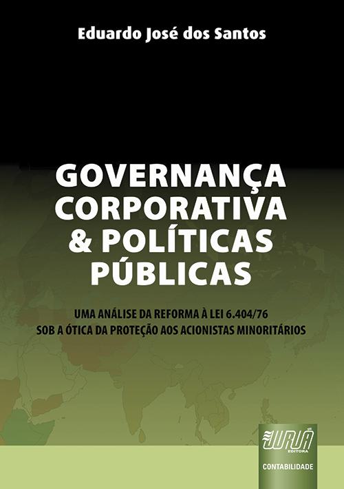 Governança Corporativa e Políticas Públicas