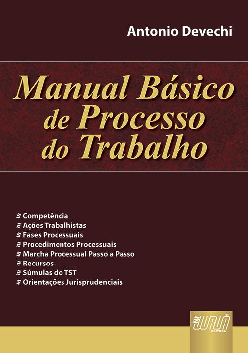 Manual Básico de Processo do Trabalho