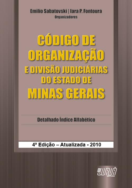 Código de Organização e Divisão Judiciárias do Estado de Minas Gerais