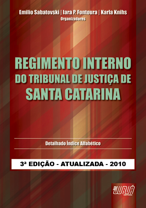 Regimento Interno do Tribunal de Justiça de Santa Catarina
