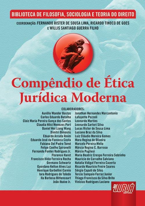 Compêndio de Ética Jurídica Moderna