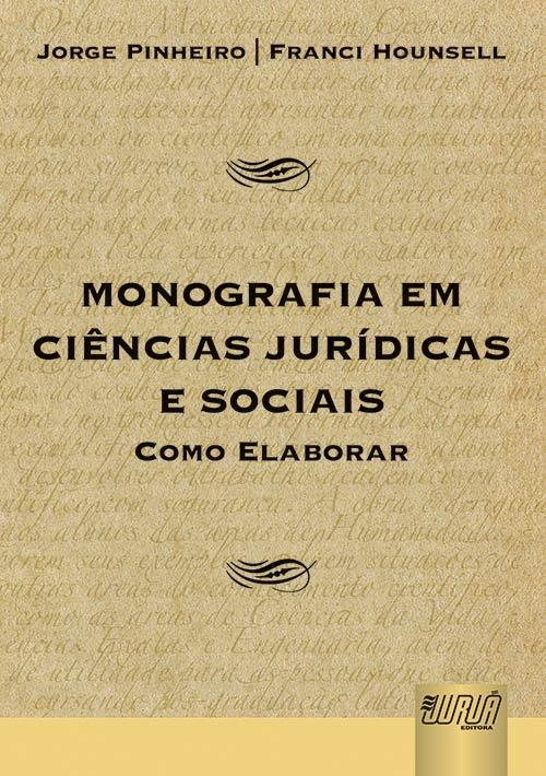 Monografia em Ciências Jurídicas e Sociais