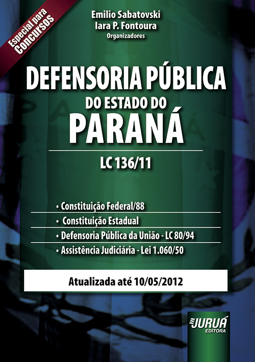Defensoria Pública do Estado do Paraná - LC 136/11