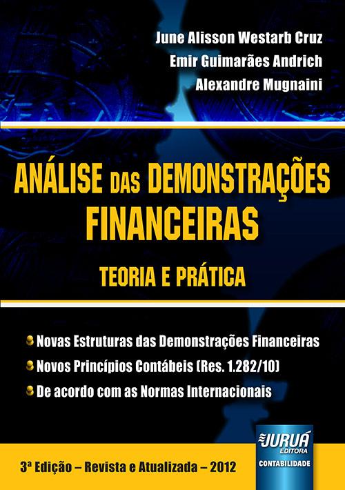 Análise das Demonstrações Financeiras - Teoria e Prática