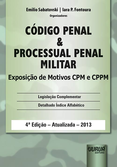 Código Penal e Processual Penal Militar