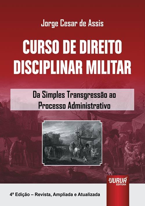 Curso de Direito Disciplinar Militar