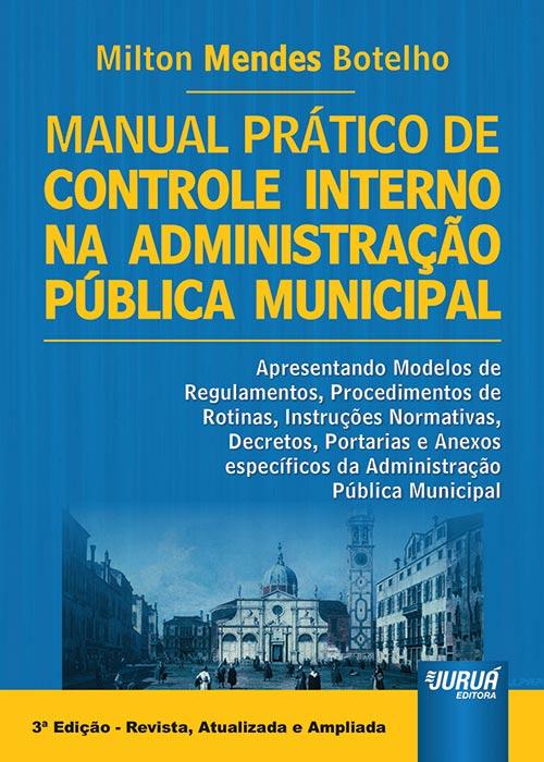 Manual Prático de Controle Interno na Administração Pública Municipal