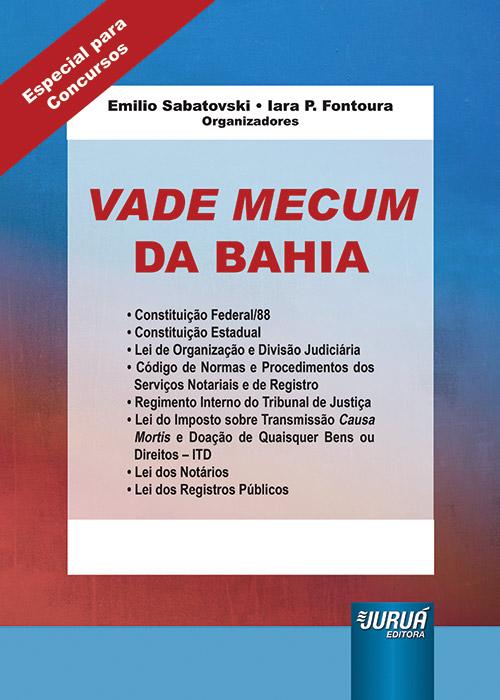 Vade Mecum da Bahia - Formato Especial: 21x30cm