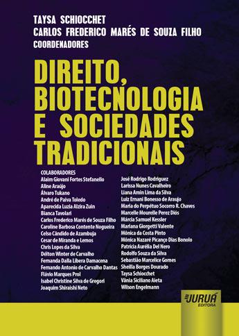 Direito, Biotecnologia e Sociedades Tradicionais