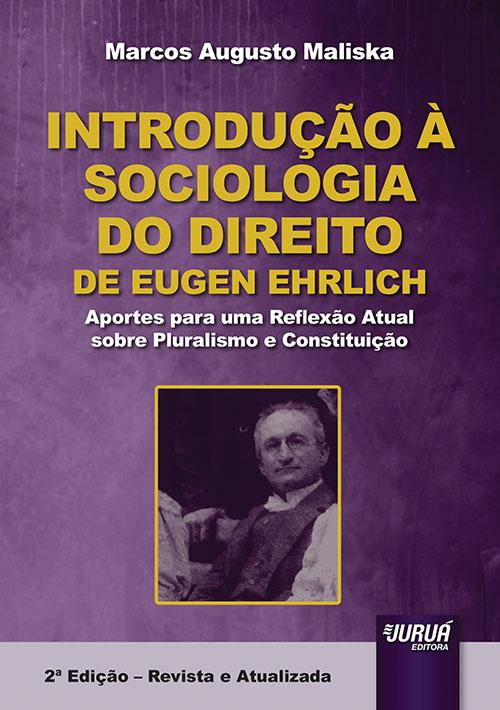 Introdução à Sociologia do Direito de Eugen Ehrlich