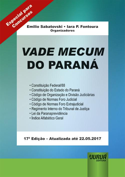 Vade Mecum do Paraná - Formato Especial: 21x30cm