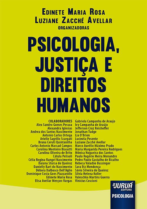 Psicologia, Justiça e Direitos Humanos